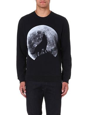 DIESEL S-anil jersey sweatshirt