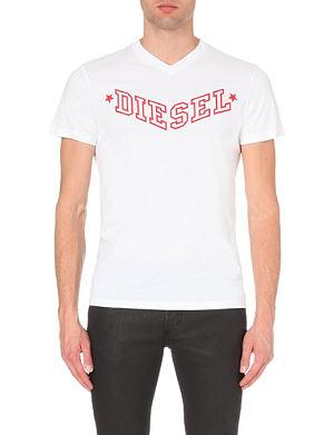 DIESEL T-Kritil cotton-jersey t-shirt