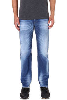 DIESEL Buster 0831D regular-fit tapered jeans