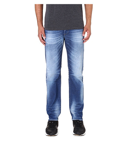 DIESEL Buster 0831D regular-fit tapered jeans (Blue