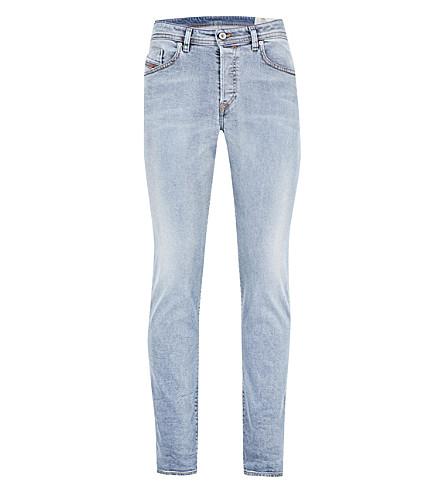 DIESEL Buster L.30 stretch-denim jeans (Grey+black