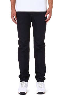 DIESEL Buster tapered mid-rise stretch-denim jeans