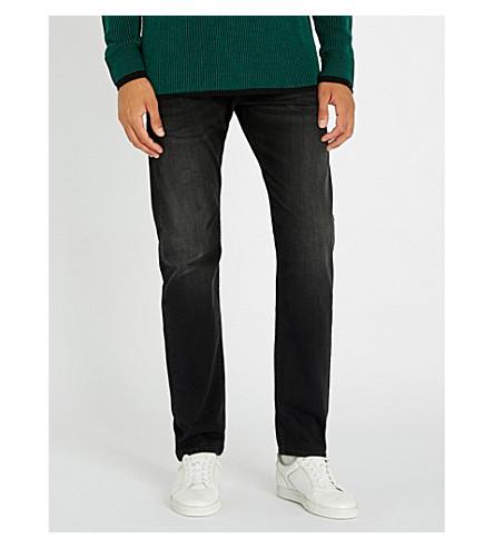 DIESEL Buster regular-fit tapered jeans (Black