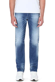 DIESEL Buster slim-fit tapered stretch-denim jeans