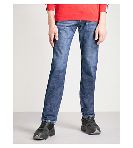 DIESEL Buster slim-fit straight jeans (Denim