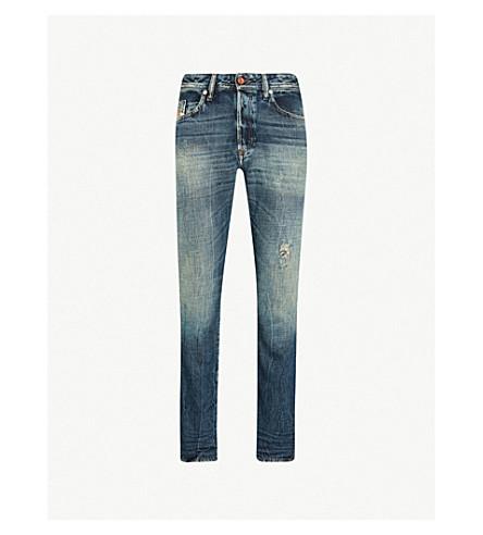 DIESEL 克星常规版型锥形牛仔裤 (靛蓝
