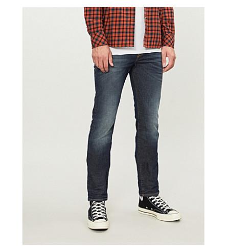 DIESEL Buster regular-fit tapered jeans (Indigo