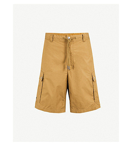 DIESEL Pcliver cotton shorts (Military+olive
