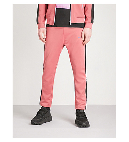 DIESEL Prussy tapereed jersey jogging bottoms (Slate+rose