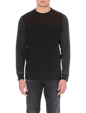 DIESEL S-anele jersey sweatshirt