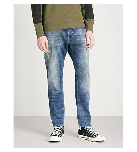 DIESEL Narrott relaxed-fit tapered jeans (Denim