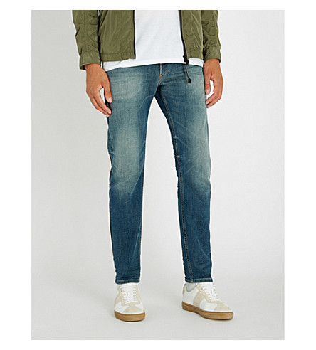 DIESEL Thommer-T slim-fit tapered jeans (Indigo