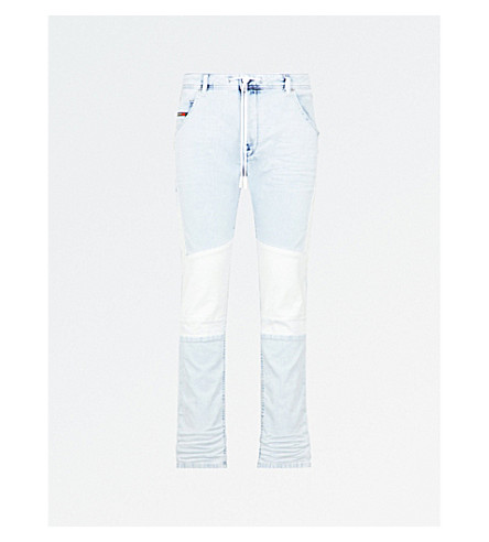 DIESEL Krooley slim-fit tapered jeans (Denim