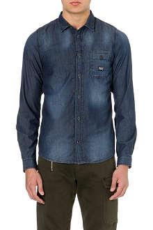 DIESEL Slim-fit denim shirt