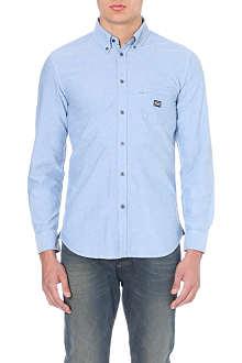 DIESEL Slim-fit cotton shirt