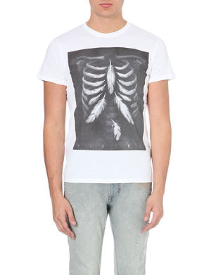 DIESEL Printed cotton t-shirt