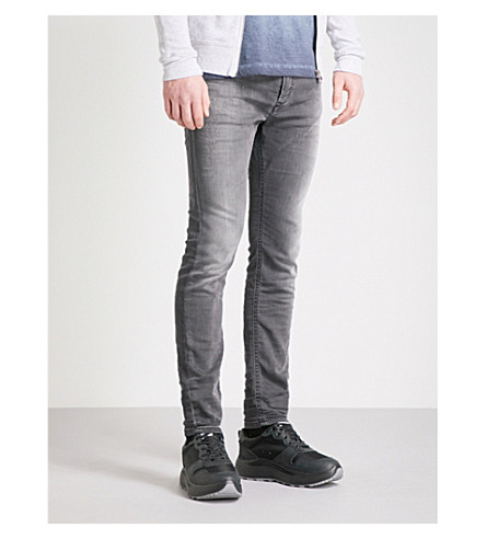 DIESEL Spender-Ne slim-fit skinny jeans (Dark+grey+black