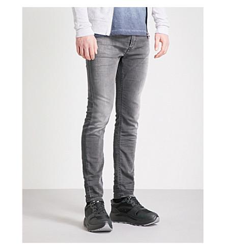 grey skinny DIESEL Ne Dark slim Spender fit black jeans AZ7qwS07F
