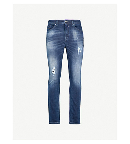 DIESEL Spender-Ne sweat jogg jeans (Denim