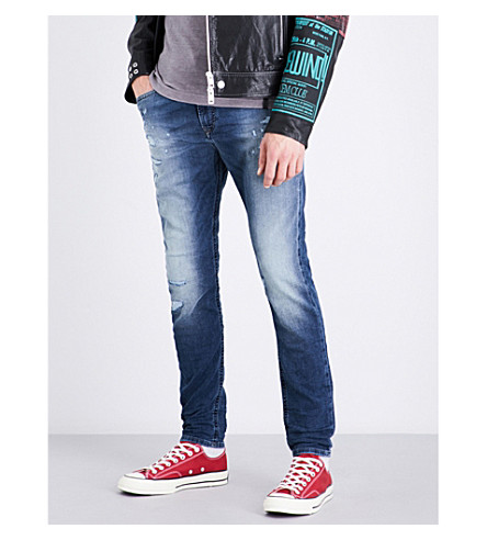 DIESEL Spender-ne slim-fit skinny joggjeans (Light+wash+blue