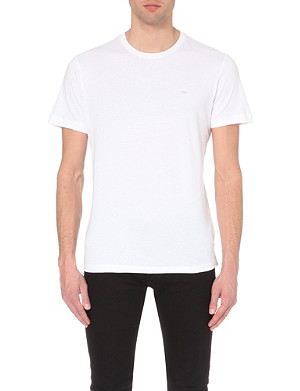 DIESEL Metal-logo cotton-jersey t-shirt