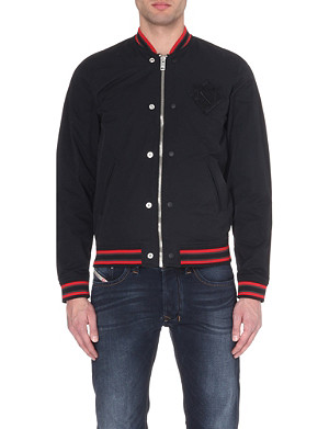 DIESEL J-iowa bomber jacket