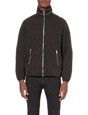 DIESEL J-Aliphoro funnel-neck hooded shell jacket