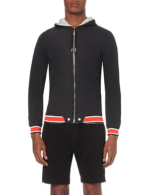 DIESEL J-hellad hooded reversible jacket