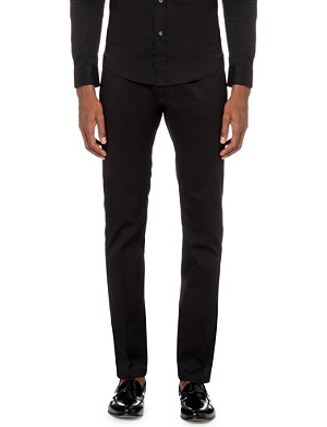 DIESEL P-Farnello-rib slim-fit straight trousers