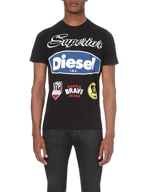 DIESEL T-Chrestos cotton-jersey t-shirt