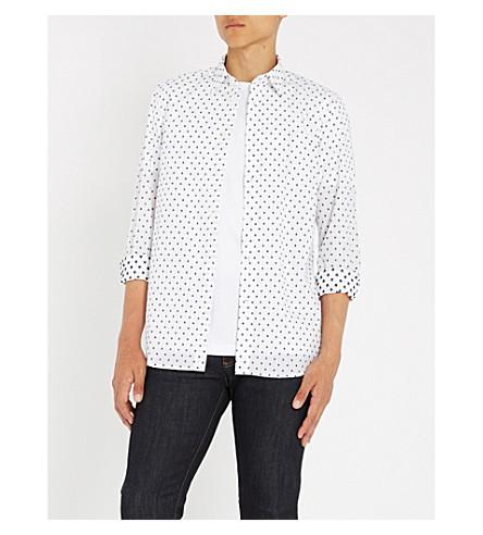 DIESEL S-Folk regular-fit cotton shirt (Bright+white