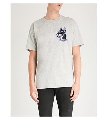 grey shirt cotton sersey wallace melange T DIESEL T Light Xfq06wnx