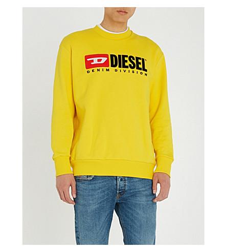 DIESEL S-crew-Division sweatshirt (Freesia