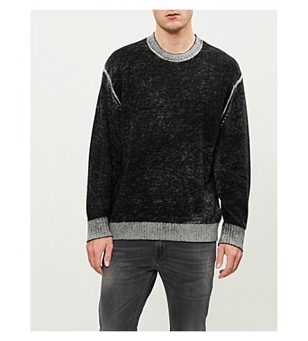 DIESEL K-Conf wool-blend jumper (Black