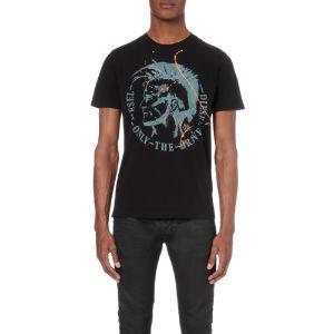 T-sha cotton-jersey t-shirt