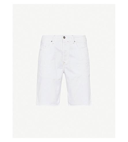 DIESEL Bustshort distressed denim shorts (Bright+white