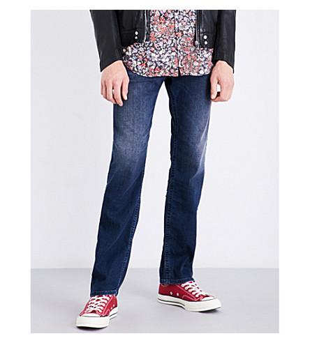 DIESEL Akee regular-fit tapered jeans (Medium+wash+blue