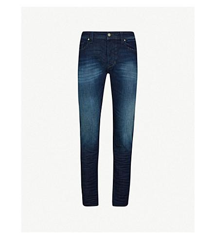 DIESEL Larkee-Beex slim-fit tapered stretch-denim jeans (Indigo