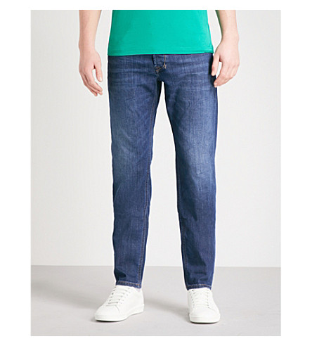 DIESEL Larkee-Beex regular-fit tapered jeans (Denim