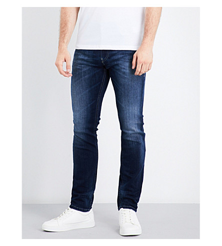 DIESEL Thommer slim-fit skinny jeans (Medium+wash+blue