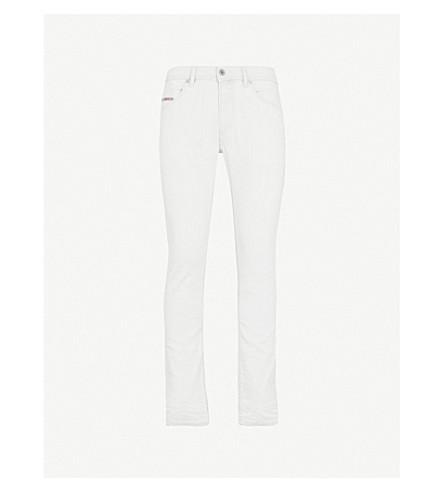 DIESEL Thommer stretch denim jeans (White