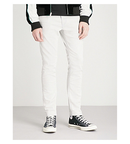 DIESEL Thommer stretch denim jeans (White