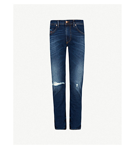 DIESEL Thommer slim-fit skinny denim jeans (Indigo