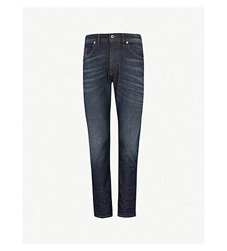 DIESEL Thommer 修身版型紧身牛仔布牛仔裤 (靛蓝