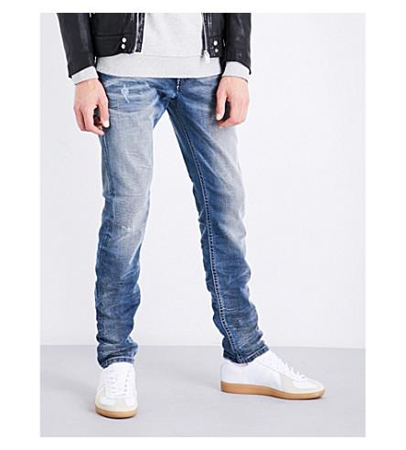 DIESEL Thommer slim-fit skinny jeans (Light+wash+blue