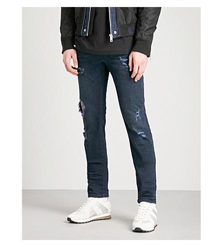 DIESEL Thommer distressed slim-fit skinny jeans (Denim