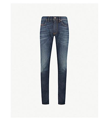 DIESEL Thommer 修身版型紧身牛仔裤 (靛蓝