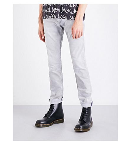 DIESEL Thommer slim-fit skinny low-rise jeans (Light+wash+grey