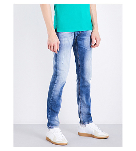 DIESEL Thommer slim-fit skinny jeans (Light+wash+blue