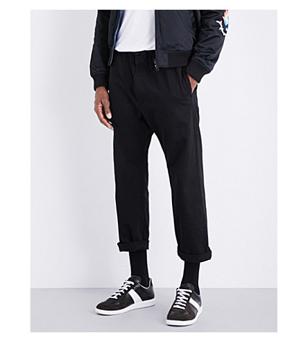 DIESEL P-Idaho tapered jogging bottoms (Black